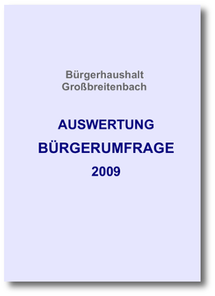 Auswertung 2009